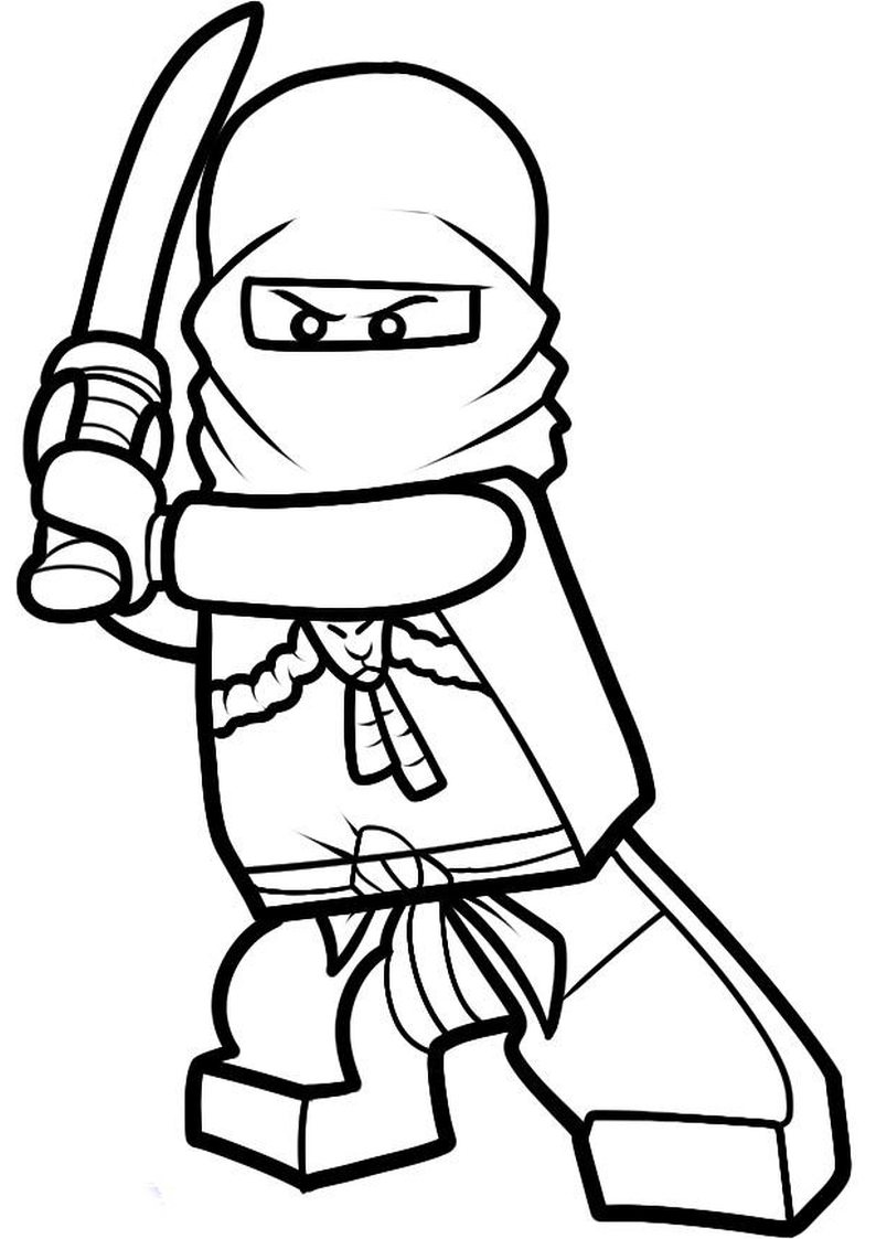 Mred Ninjago Coloring Pages Coloring