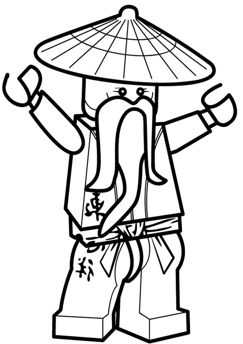 pin kolorowanka lego ninjago mistrzowie spinjitzu