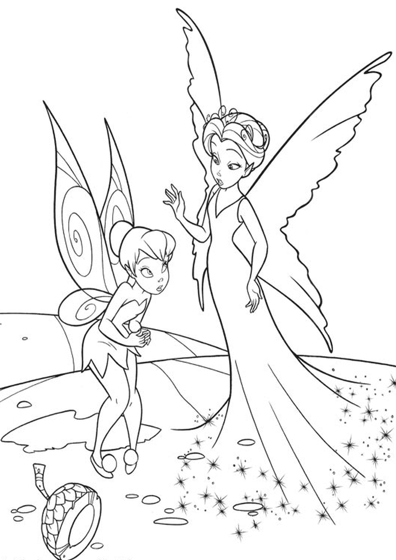 Beautiful Fairy Coloring Pages Coloring Coloring Pages