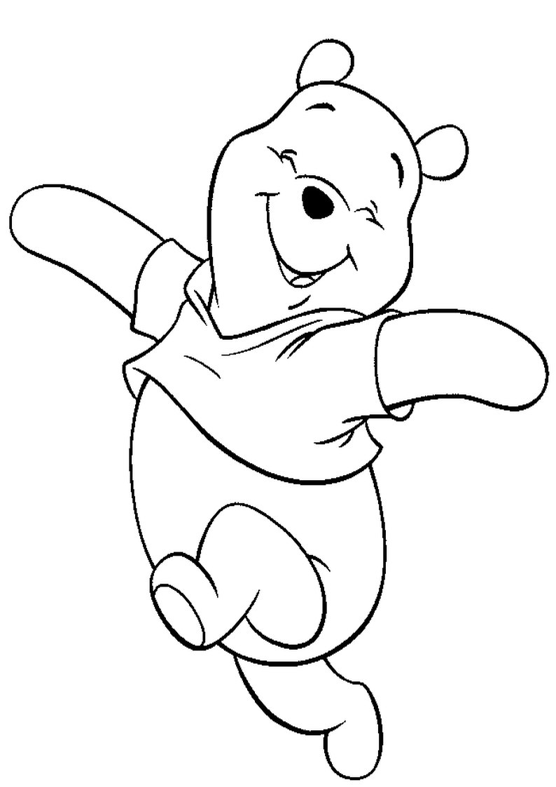 baby winnie the pooh piglet coloring pages cndaily