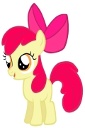 miniatura obrazka z kucykiem Apple Bloom z My little Pony
