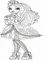 kolorowanki Ever After High do wydruku malowanki nr  17