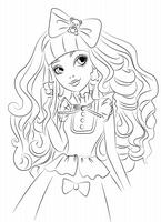 kolorowanki Ever After High malowanki do wydruku numer  1