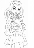 kolorowanki Ever After High malowanki do wydruku numer  25