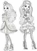 kolorowanki Ever After High do wydruku malowanki nr  26