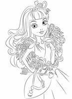 kolorowanki Ever After High do wydruku malowanki nr  2