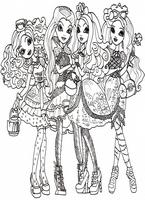 kolorowanki Ever After High malowanki do wydruku numer  37