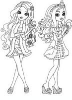 kolorowanki Ever After High malowanki do wydruku numer  40