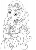 kolorowanki Ever After High malowanki do wydruku numer  4