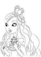 kolorowanki Ever After High do wydruku malowanki nr  8