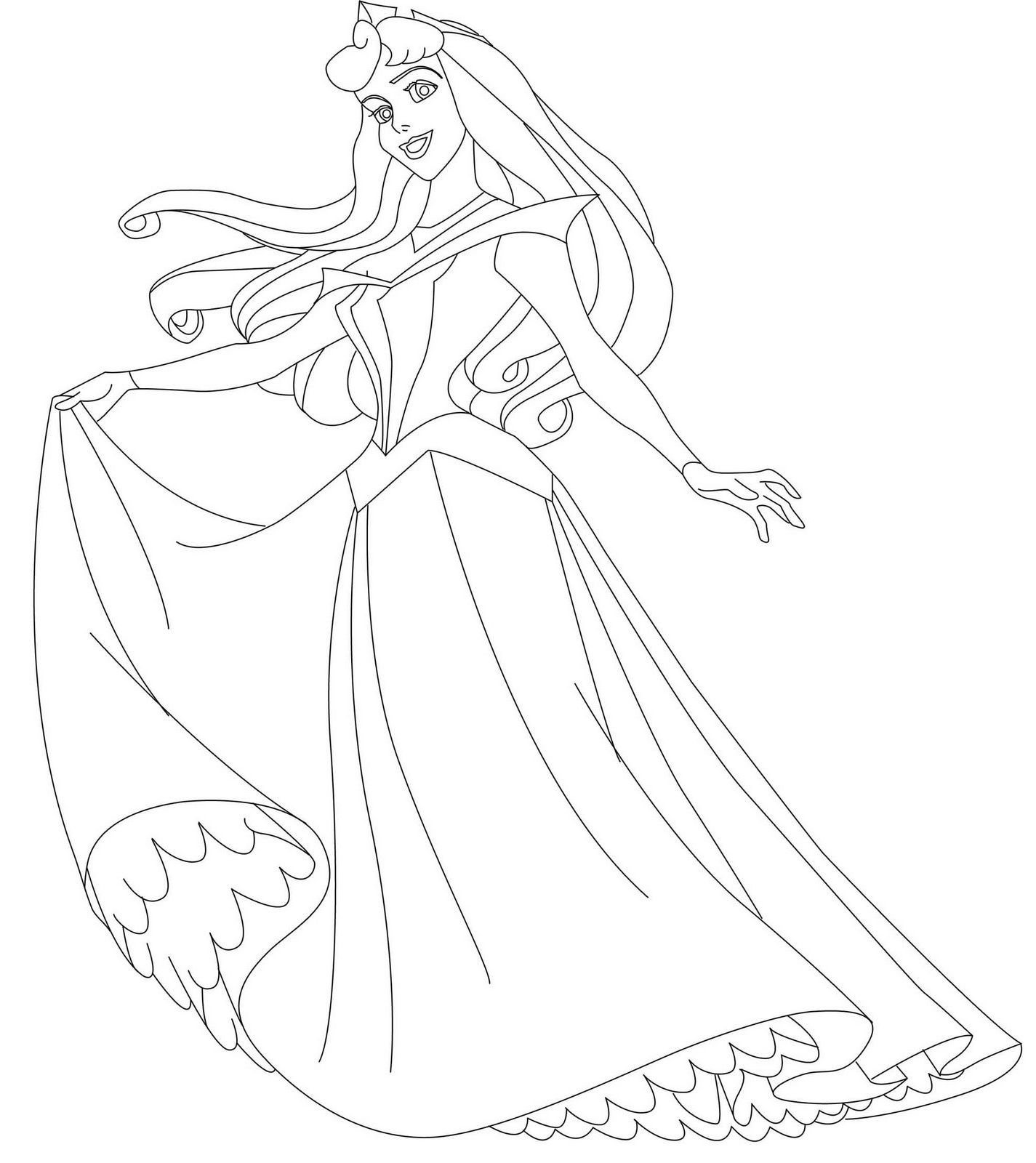 Disney Characters Coloring Pages  GetColoringPagescom
