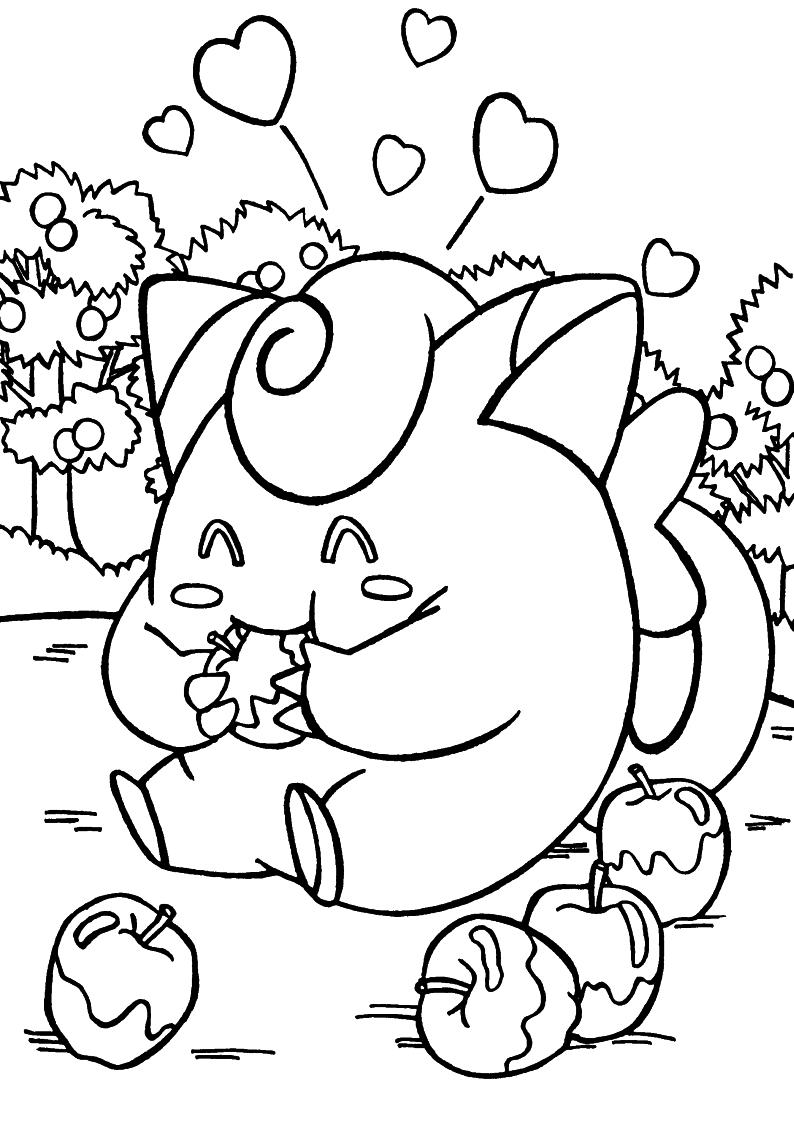 Kolorowanka Pokemon Malowanka Do Wydruku 12