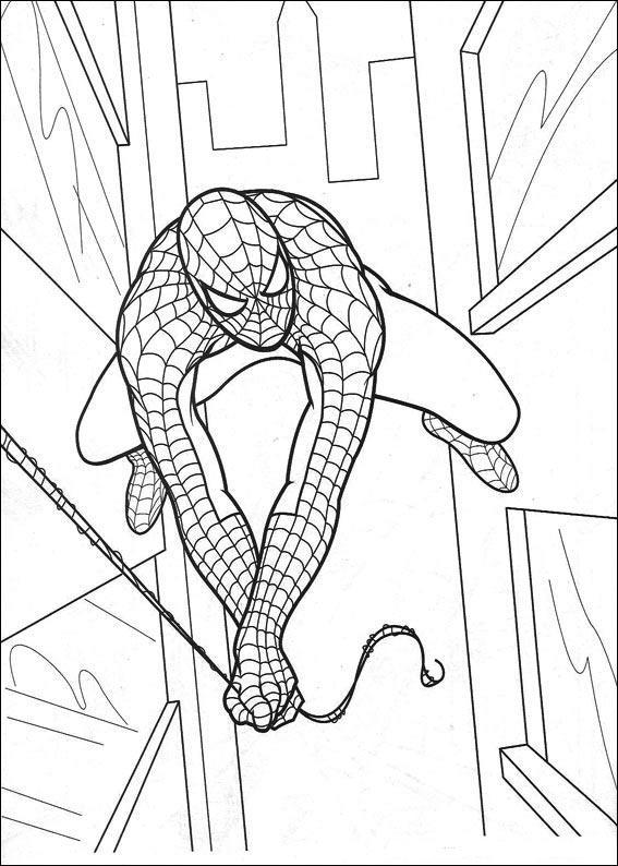 Kolorowanki Spider Man malowanki