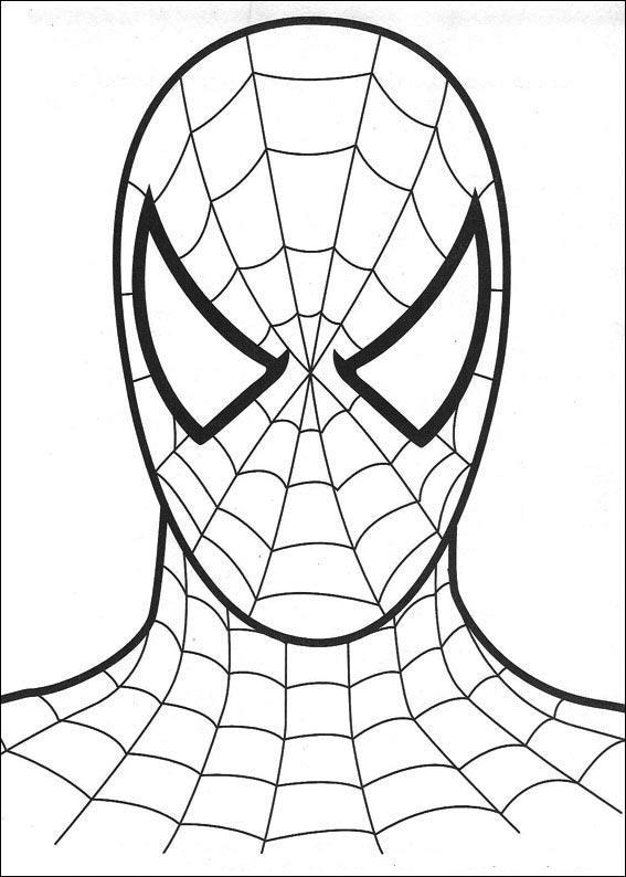 kolorowanki spider man malowanki do wydruku